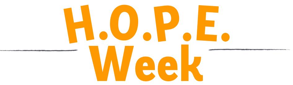 HOPE Week